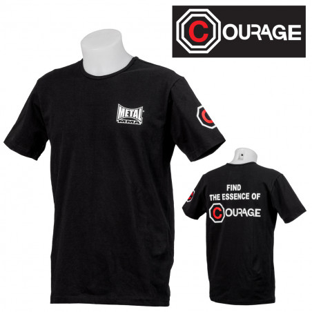 TEE SHIRT MMA COURAGE