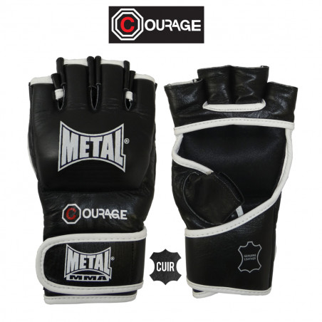 COURAGE MMA LEATHER GLOVES...