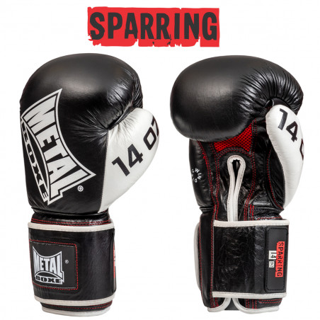 SPARRING LEATHER GLOVES 24 OZ
