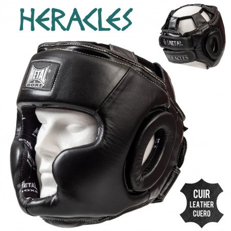 HERACLES LEATHER HEAD GUARD