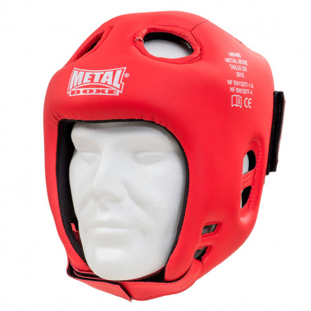 CASQUE COMPETITION ROUGE
