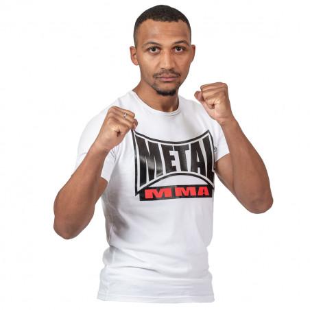 T SHIRT MMA BLANC VISUAL