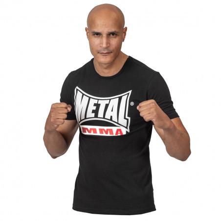T SHIRT MMA NOIR VISUAL