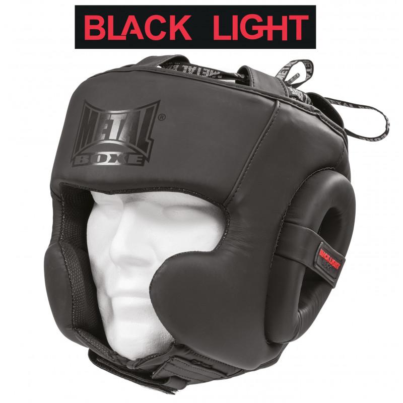 CASQUE SEMI INTEGRAL  BLACK LIGHT