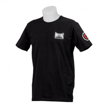 COURAGE MMA T-SHIRT BLACK - XL