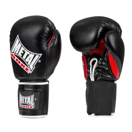 OKO BOXING GLOVES BLACK/RED...