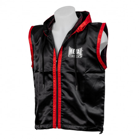 BOXER JACKET BLACK/RED - XL