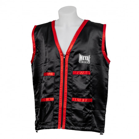 CORNER MAN JACKET BLACK/RED...