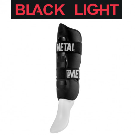 BLACK LIGHT SHIN GUARD - XS