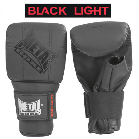 BLACK LIGHT BAG GLOVES - SR